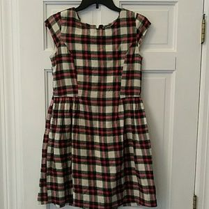 GAP girls plaid dress
